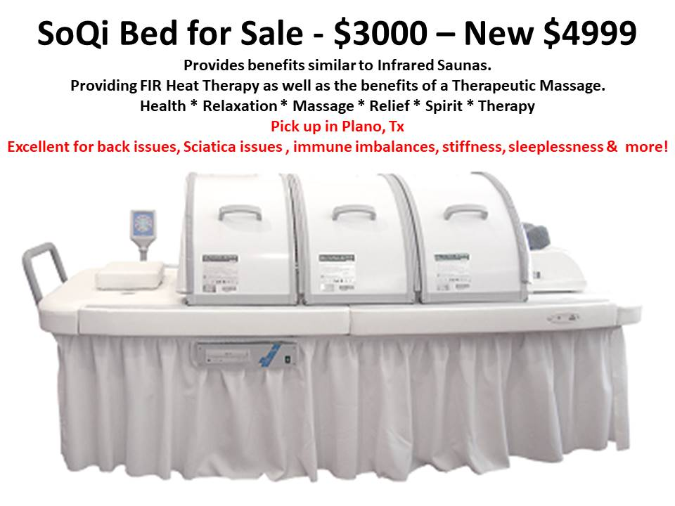 SoQi Bed with chi machine