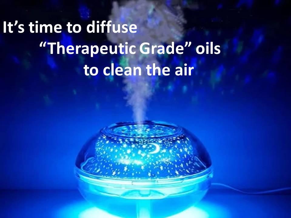 Diffuse Therapeutic grade oil